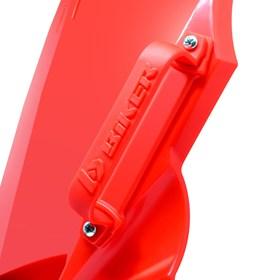 Number Plate + Passa Cabo F1RST CRF 230 - Vermelho