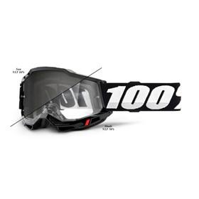 Óculos 100% Accuri 2   - Woods Preto