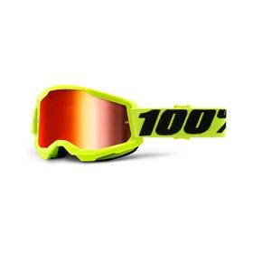 Óculos 100% Strata 2 Lente Espelhada - Amarelo