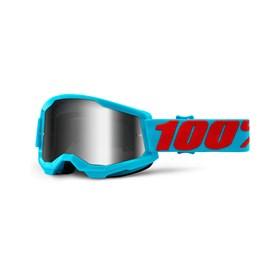 Óculos 100% Strata 2 Lente Espelhada - Summit