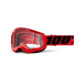 Óculos 100% Strata 2 - Vermelho