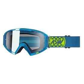 Óculos ASW A2 Check - Azul Amarelo Flúor