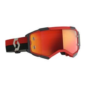 Óculos Scott Fury - Vermelho Preto Laranja