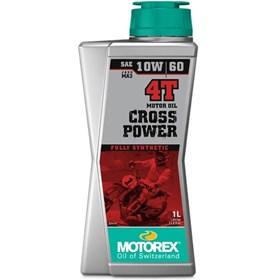 Óleo de Motor Motorex Cross Power 4T 10W60