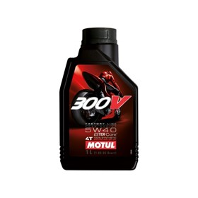 Óleo para Motor Motul 300V Factory Line 4t 5W40 1L