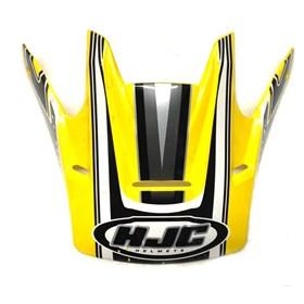 Pala de Capacete HJC CL X4C - Amarelo Cinza