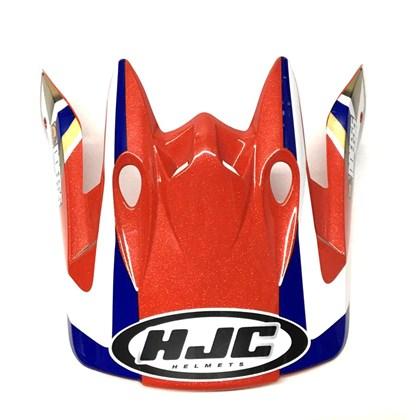 Pala de Capacete HJC DDEF55 - Vermelho Azul