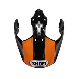 Pala de Capacete Shoei Hornet - Preto Laranja