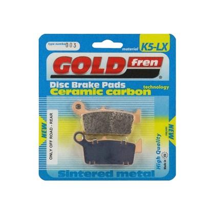 Pastilha Gold Fren Traseira - Honda