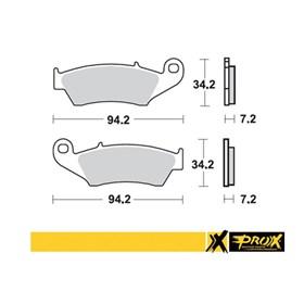 Pastilha Prox Dianteira - CR 125/250/500 CRF 125/150/230/250/450 KXF 250/450 DRZ 400 RMZ 250/450