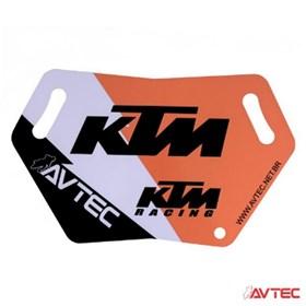 Placa Pit Board Avtec - KTM