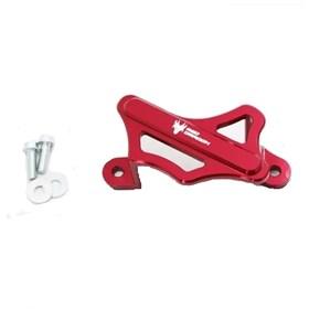 Protetor Caliper Freio Red Dragon - Traseiro Honda CR/CRFR/X 04/16 Vermelho
