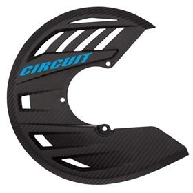 Protetor de Disco Circuit Balístico - Carbono Azul