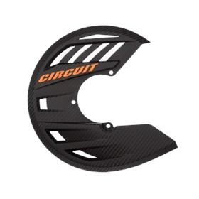 Protetor de Disco Circuit Balístico - Carbono Laranja