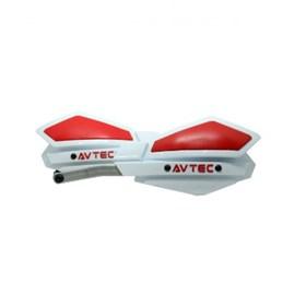 Protetor de Mão Avetc Alumínio - Branco Vermelho