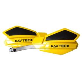 Protetor de Mão Avtec Alumínio - Amarelo Preto