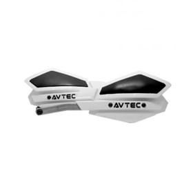 Protetor de Mão Avtec Alumínio - Branco Preto