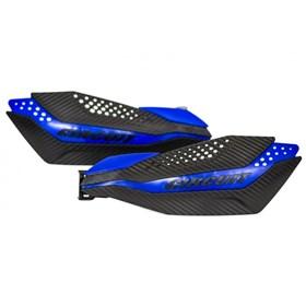 Protetor de Mão Circuit Dakar Yamaha - Carbono Azul