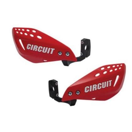 Protetor de Mão Circuit Vector INJ T-REX  -  Vermelho/Branco