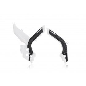 Protetor de Quadro Acerbis KTM EXC/EXC-F 2020 - Branco Preto