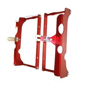 Protetor De Radiador Start CRF 250 R/X 05/09 - Vermelho