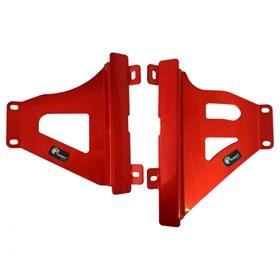 Protetor de Radiador Start CRF 250 R/X 18/20 - Vermelho