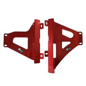 Protetor de Radiador Start CRF 450 RX 17/20 - Vermelho