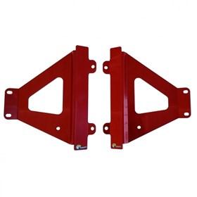 Protetor De Radiador Start CRF 450R 21 - Vermelho