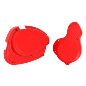 Protetor De Tampa Do Motor Okta CRF 230 - Vermelho